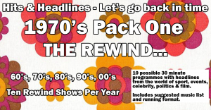 Let&#039;s Go Back in time with the 70&#039;s Rewind