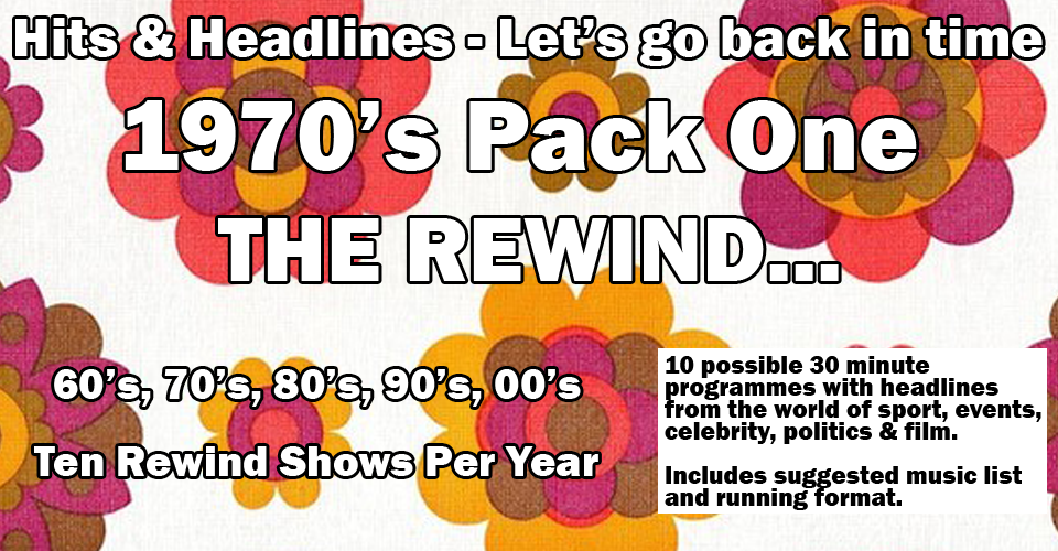 Let's Go Back in time with the 70's Rewind