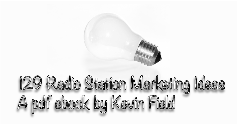 Only buy this book if you want great radio marketing ideas that work!